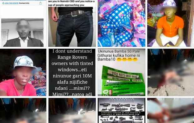 В Кении ~эскадроны смерти~ используют Facebook для поиска и отстрела людей, похожих на бандитов
