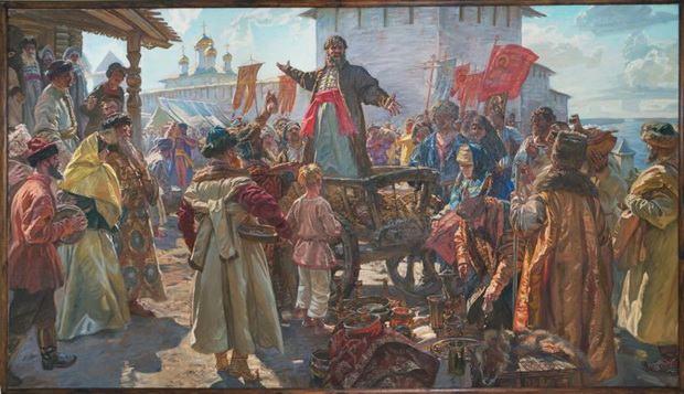 Также поднялось крестьянство и началась партизанская война.
