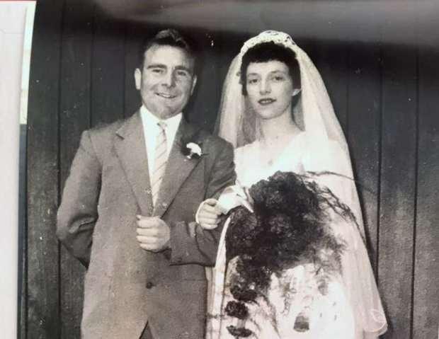 Дорис и Уилф Келли прожили в браке 61 год и в конце жизни оказались в разных отделениях больницы в Дарлингтоне.