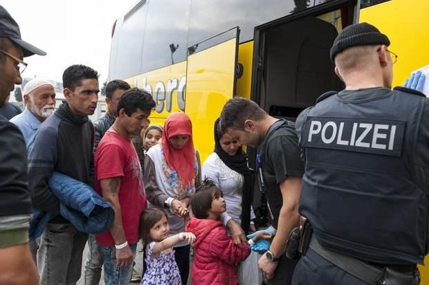 В Греции согласились принимать беженцев