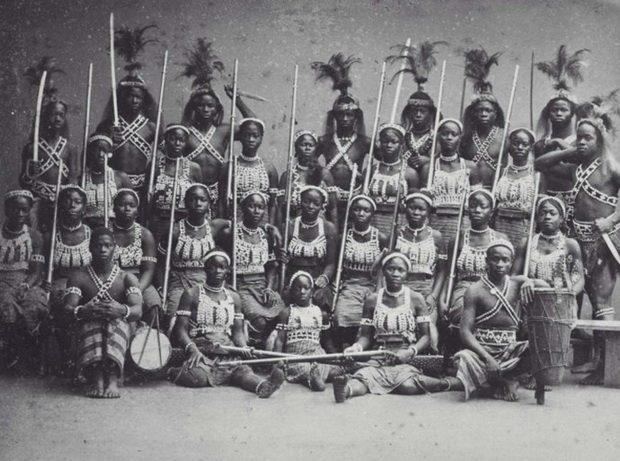 Дагомейские амазонки. Источник: twitter.com