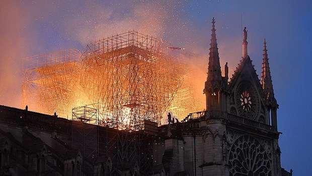 Французские бизнесмены обещают предоставить 680 млн евро на восстановление собора Парижской Богоматери