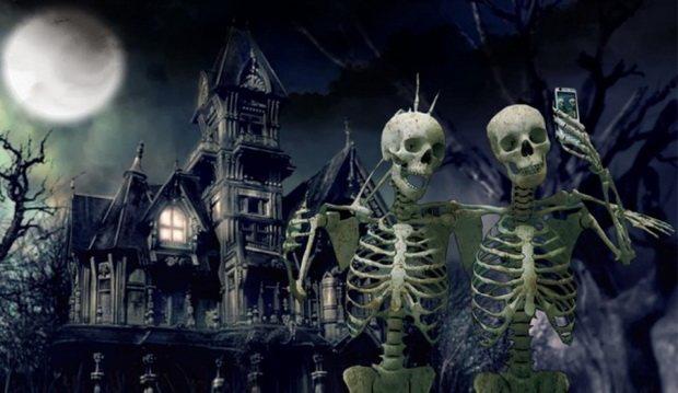 Современность и Хеллоуин. Смерть — это весело