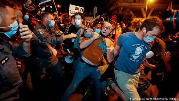 В Израиле вновь прошли протесты против Нетаньяху