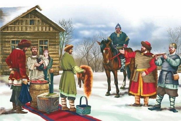 Мытник в Древней Руси
