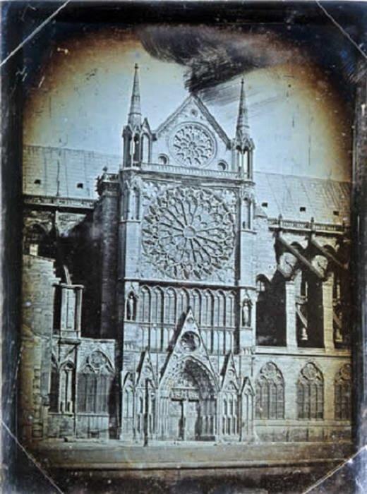 Коронация Наполеона в стенах собора