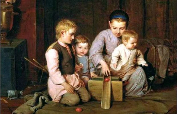 буквально 100-150 лет назад излишняя книжная премудрость в большинстве крестьянских семей считалась баловством