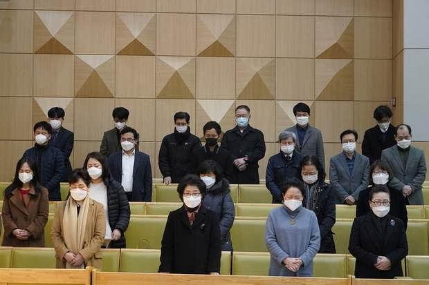 В Южной Корее очагом коронавируса оказалась секта