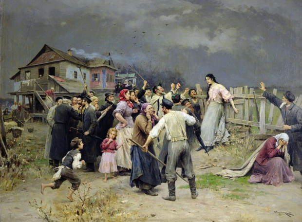 Жизнь русских крестьян была с детства пропитана насилием, воспринимаемым как норма.