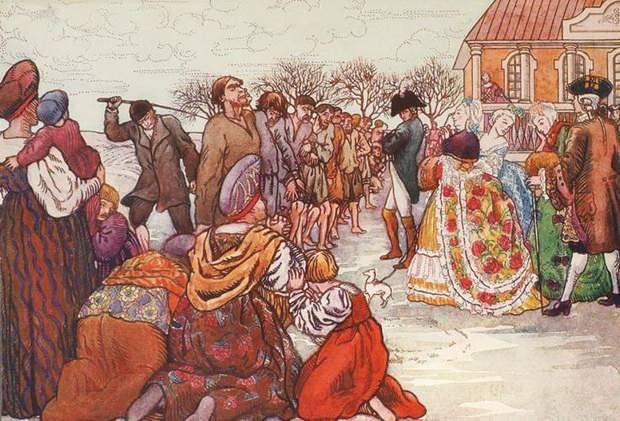 Казалось, что теперь избиения прекратятся, однако крестьяне продолжали решать все проблемы именно поркой