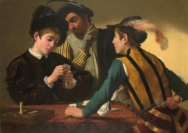 Азартные игры. Источник: Wikimedia Commons