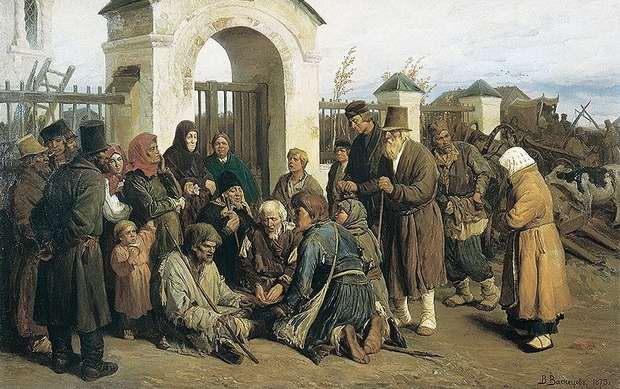 Иоанну Кронштадтскому приходилось буквально спасаться от нищих, которые толпами ходили за священником, не отказывающим никому в помощи