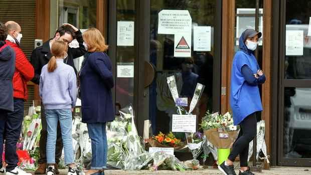 Убийство учителя во Франции