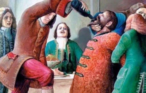 Членство в шутовской организации не всегда было добровольным, часто Петр принуждал к этому тех, кого хотел оскорбить или унизить.