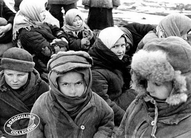 Эвакуация в тыл страны. 1941
