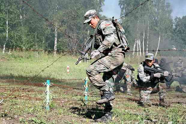 Китай отправляет в Зимбабве спецназ