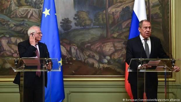 Евросоюз и Россия двигаются в разные стороны: Боррель после возвращения из Москвы заговорил о санкциях