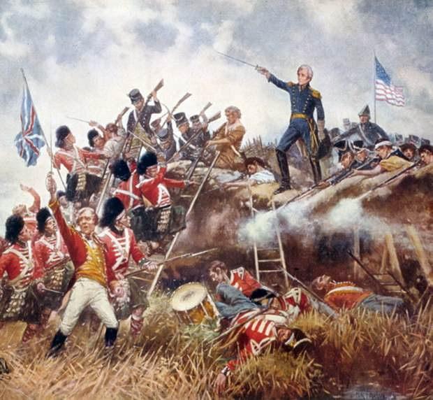 Англо-американская война 1812 — 1815 годов © Wikimedia commons