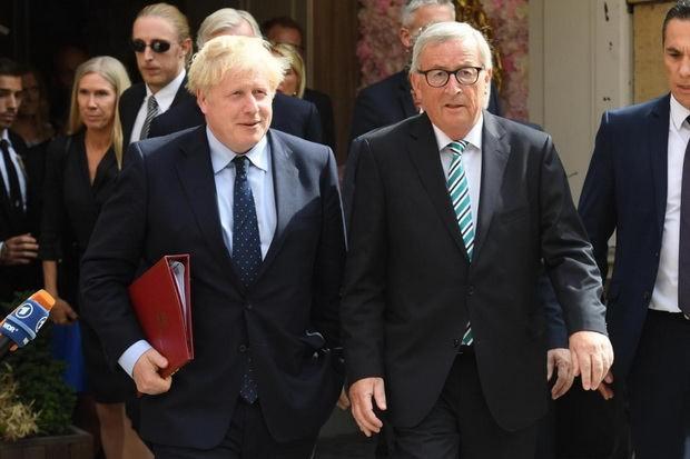Встреча Юнкера и Джонсона по Brexit закончилась безрезультатно