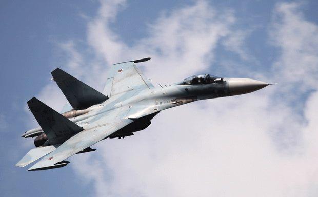 Минобороны сообщило о крушении истребителя Су-27 над Черным морем