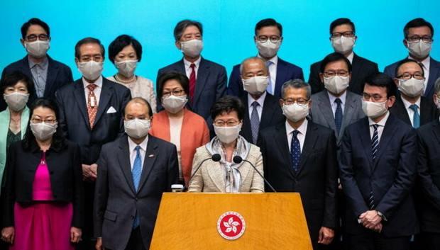 Китай готовится принять жесткий закон «о мятежах» в Гонконге