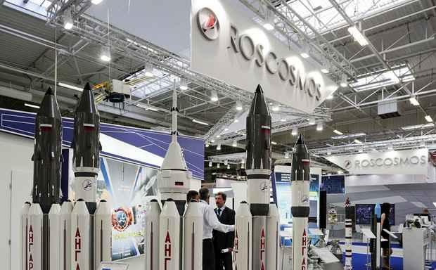 ~Роскосмос~ назвал причинами своих проблем Украину, рубль и SpaceX