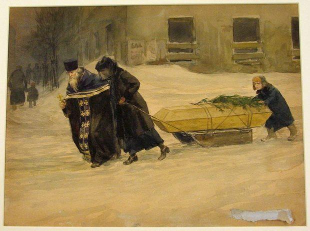 Помню большой Владимирский собор в Киеве и в нем тридцать гробов и каждый гроб был занят или гимназистом или юнкером.