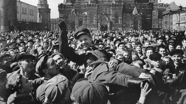 Празднование Дня Победы на Красной площади. Евгений Умнов/ТАСС