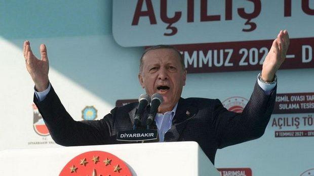 Президент Турции Эрдоган решил выслать послов США, Германии, Франции и еще семи стран