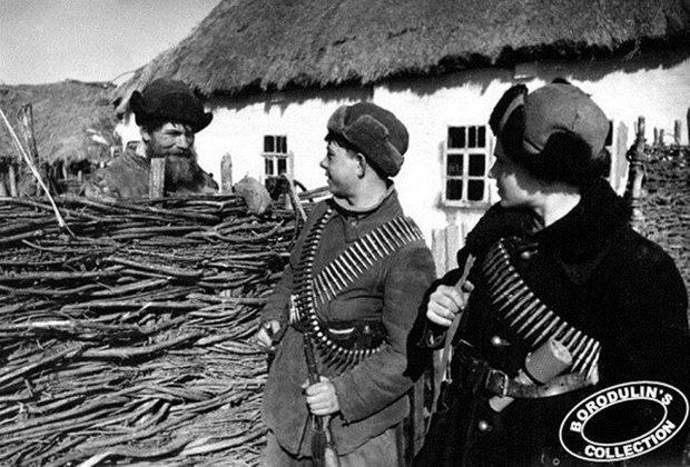 Юные партизаны Смоленщины. 1942