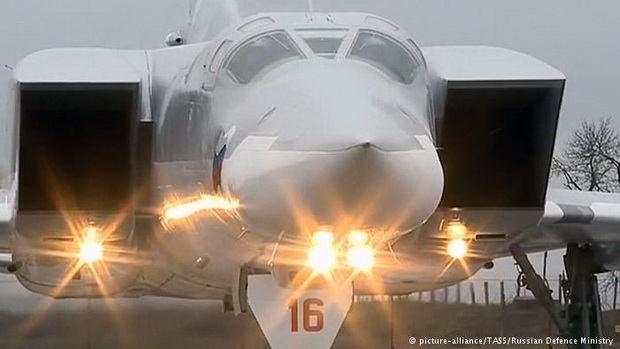 Российские бомбардировщики вылететели в Сирию с иранского аэродрома
