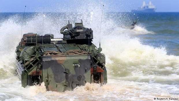 Сокращение числа солдат и офицеров бундесвера в учениях на востоке Европы вызвано постоянным размещением в странах Балтии и Польше воинского контингента НАТО.