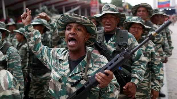 Мадуро объявил масштабный набор в милицию