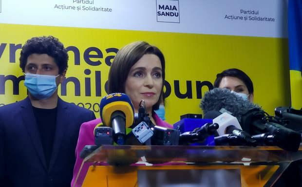 Экзит-пол показал победу Майи Санду на выборах президента Молдавии