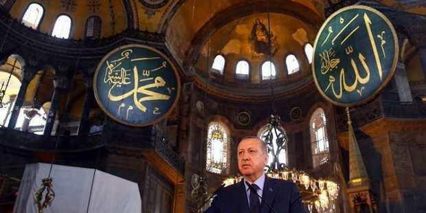 Президент Турции объявил о будущих архитектурных изменениях в соборе Святой Софии