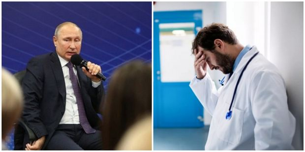 Путин предложил посылать в глубинку отряды студентов-медиков