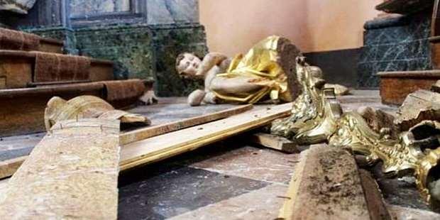 По данным правозащитной организации, в Европе растет число преступлений по отношению к христианам