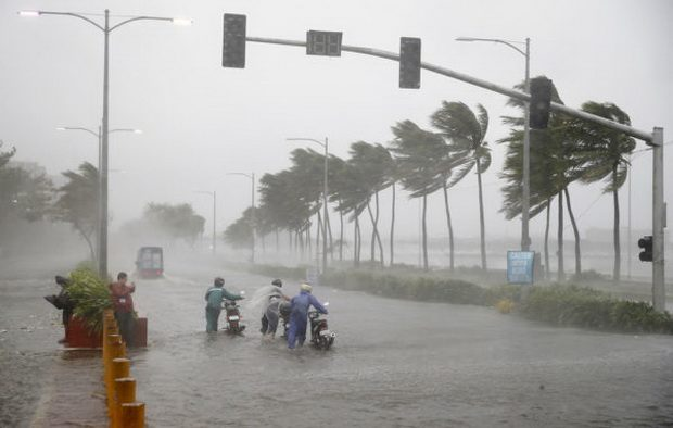 "Тайфун ""Мангхут"" бушует на Филиппинах."
