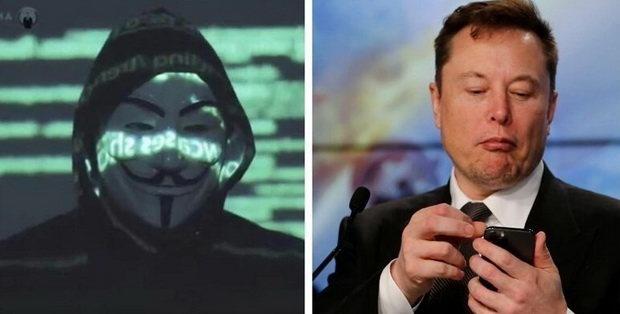 Хакеры из Anonymous объявили Илону Маску войну
