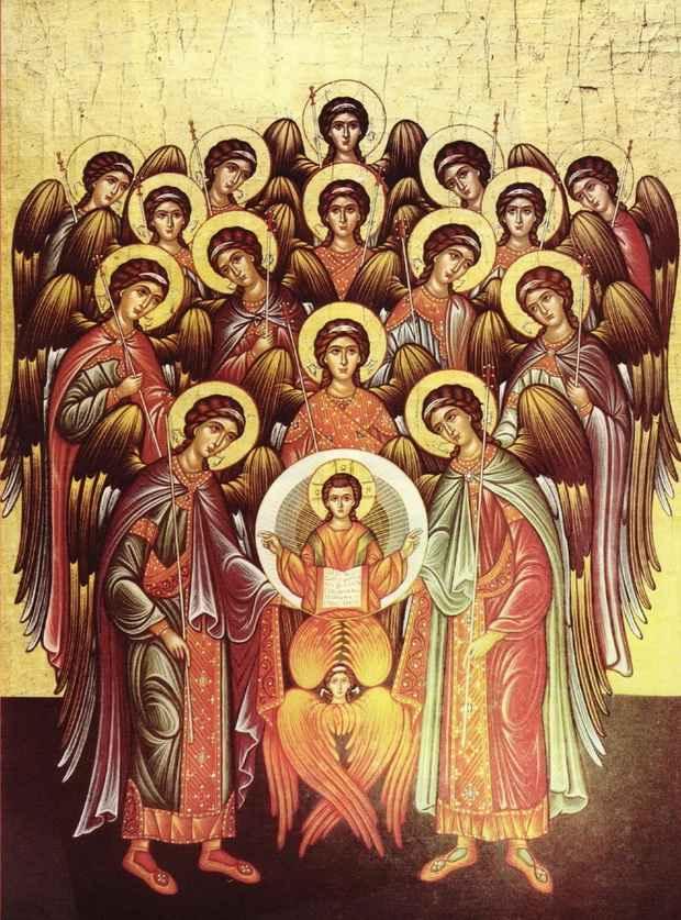 Слово «ангел» (греч. ἄγγελος) означает «вестник»