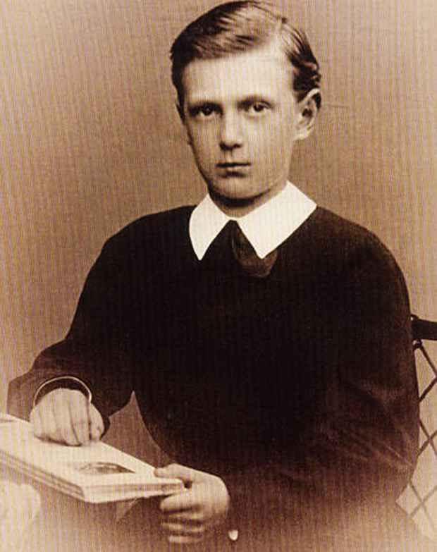 Великий князь Сергей Александрович в детстве. Источник: www.alipiya.com.ua