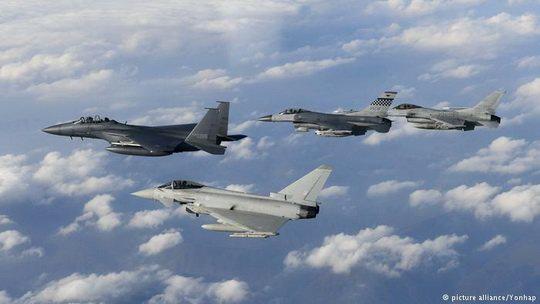 Катар приобрел у Великобритании истребители Typhoon