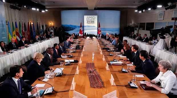 Германия выступила против приглашения России в G7
