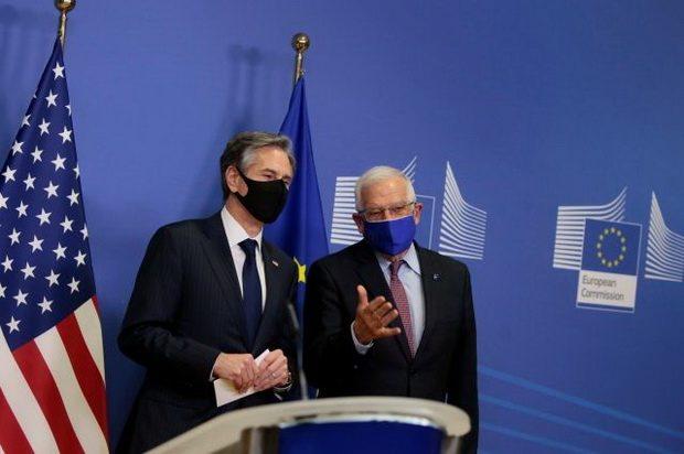 ЕС и США договорились координировать действия в отношении России