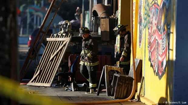 Число погибших на вечеринке у художников в Калифорнии достигло 30 человек