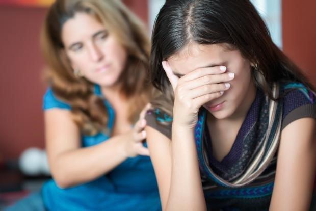 Депрессия подростков = депрессия родителей