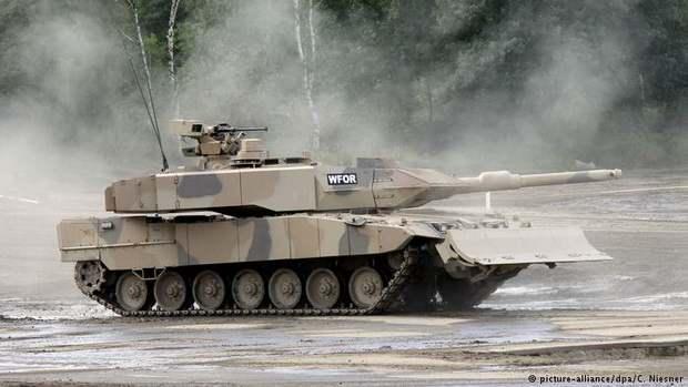 Германия существенно увеличила объем экспорта вооружений Саудовской Аравии и Египту.