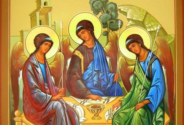 Троица есть Троица Любви и Бог есть единство Трех, бесконечно любящих друг друга Лиц.
