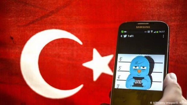 В Турции оштрафовали Facebook, Twitter и другие соцсети