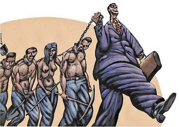 В России, по информации фонда, насчитывают больше миллиона рабов